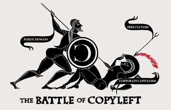 La batalla del Copyleft